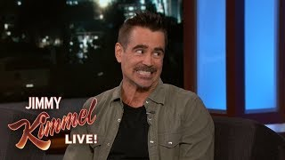Colin Farrell & Jimmy Kimmel Reveal Childhood Crushes