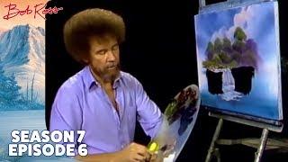Bob Ross - Misty Waterfall (Season 7 Episode 6)