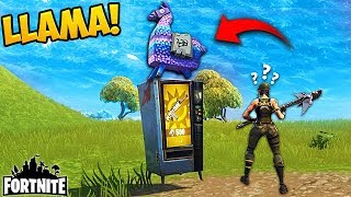 LLAMA VENDING MACHINE! - Fortnite Funny Fails and WTF Moments! #156 (Daily Moments)