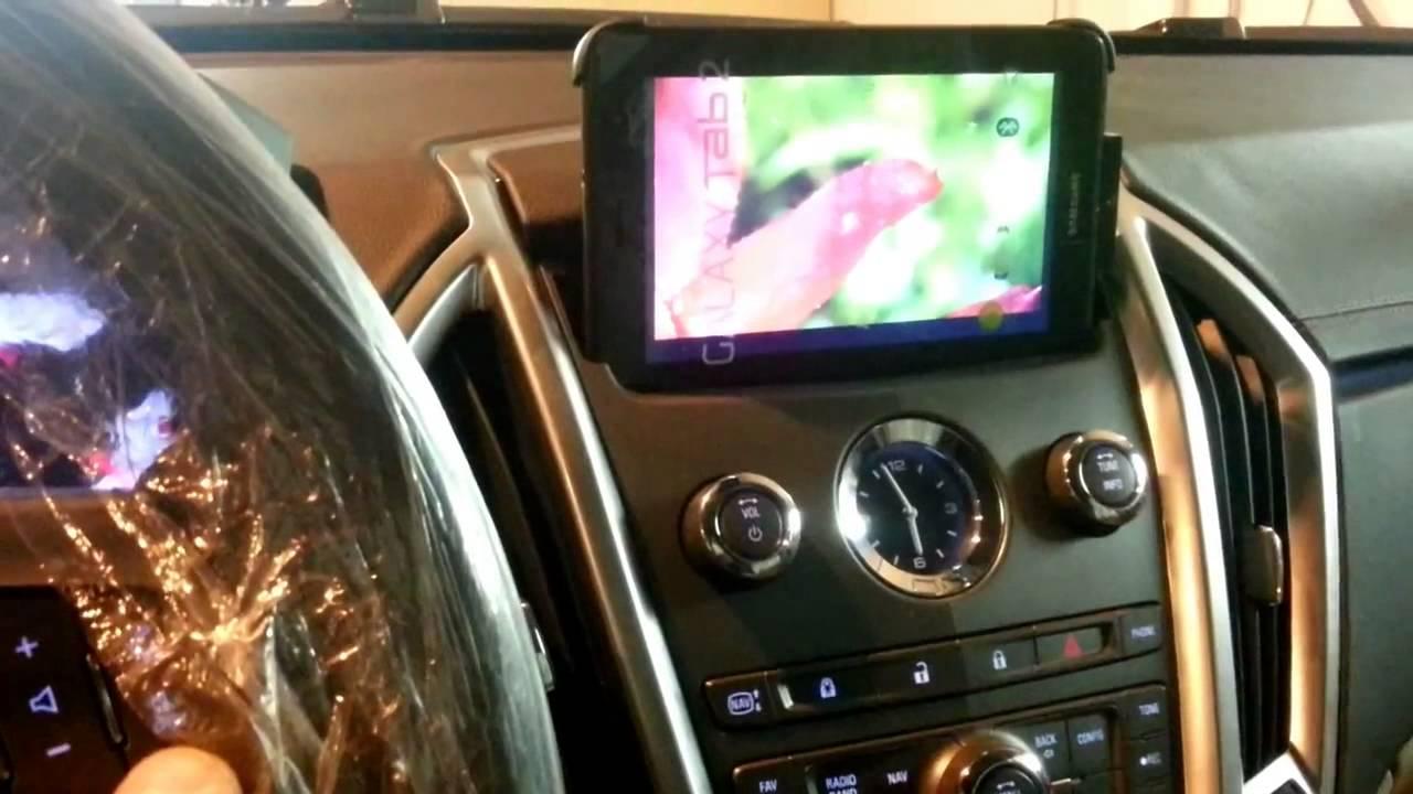 Установка планшета в автомобиле своими руками