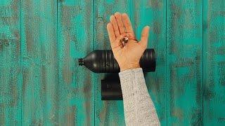 Für Sternenkucker: Teleskop aus Plastikflaschen und Lupe bauen.