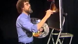 Bob Ross - Malerei Ebony Sonnenuntergang - Malerei Video