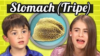 KIDS vs. FOOD - COW'S STOMACH (TRIPE)
