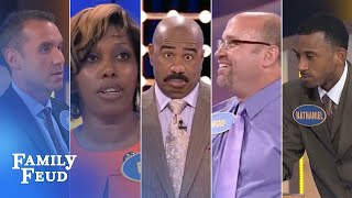ALL-TIME GREATEST MOMENTS in Family Feud history!!!   Part 1   The Top 5 CRAZIEST answers EVER!!!
