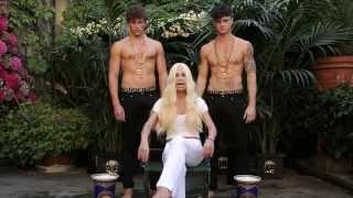 Donatella Versace ALS Ice Bucket Challenge