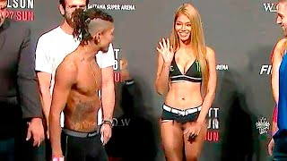 15 MOST AWKWARD MMA WEIGH-IN MOMENTS
