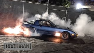 [HOONIGAN] DT 159: 400hp Turbo 13B Rotary FB RX7 by Angel Motorsports