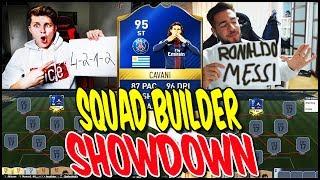 95 TOTS CAVANI SQUAD BUILDER SHOWDOWN!! ⚽⛔️😝 - FIFA 17 ULTIMATE TEAM (DEUTSCH)
