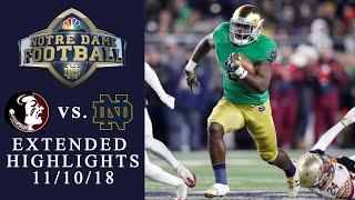 FSU vs. Notre Dame I EXTENDED HIGHLIGHTS I 11/10/18 I NBC Sports