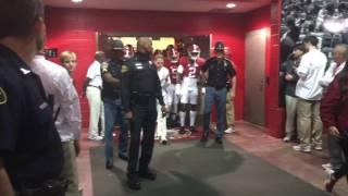 In the Alabama locker room (Mississippi State) 11-12-16