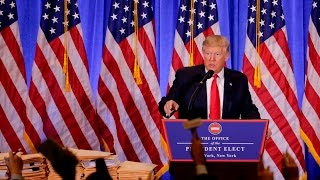 TRUMP Press Conference Full EVENT January 11 2017 News