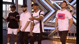 Simon Stops Them, Then Their Original Track Blows Everyone Away!   Audition 1   The X Factor UK 2017