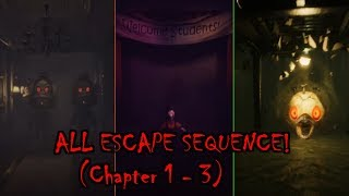 Dark Deception - All Escape Sequences (Chapter 1 - 3)