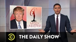 Donald Trump Doubles Down on Fat-Shaming Miss Universe: The Daily Show
