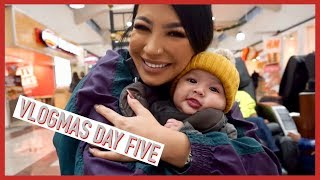 VLOGMAS DAY 5: SHOPPING WITH MAX