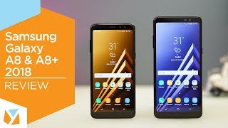 Samsung Galaxy A8, A8 Plus 2018 Review
