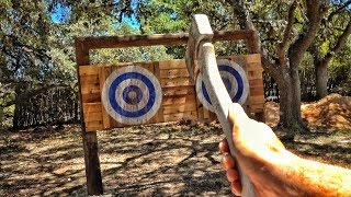 Throwing Axe Range