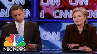 When Hillary Clinton Battled Barack Obama   NBC News