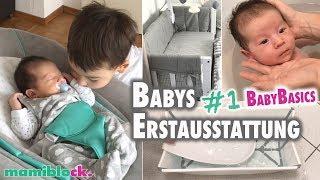 #1 Babys Erstausstattung | Das braucht ihr wirklich 👶🏼🍼 | mamiblock