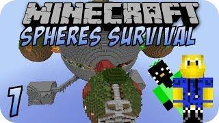 Minecraft SPHERES SURVIVAL #1 [Deutsch]