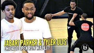 Jabari Parker & Tyler Ulis COOKING In Chicago Open Runs! NBA Pros Make It Look EASY! Full Highlights