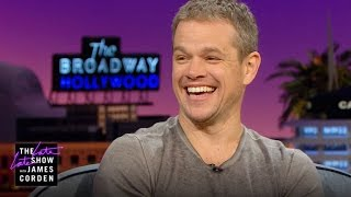 Matt Damon Discovered His Fear of Heights at 34