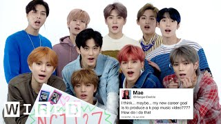 NCT 127 Answer K-Pop Questions From Twitter   Tech Support   WIRED