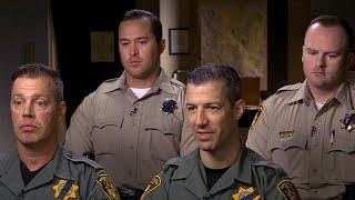 What police saw upon entering Las Vegas gunman