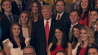 Trump tells CNN reporter to SHUT UP/quiet during white house photo-op