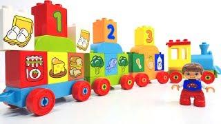 Lego Spiele für #Kleinkinder 👶 Wir lernen Lebensmittel mit #Lego #Toys 🍲 🍴 Lego Video auf Deutsch