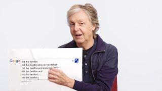 Paul McCartney Answers the Web