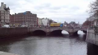 Filming random stuff in Dublin with my Sony Cybershot DSC-W830
