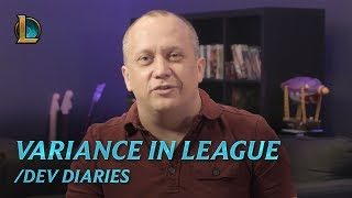 /dev diary: Variance in League of Legends