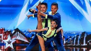 Cali Swing perform a SENSATIONAL salsa! | Auditions | BGT 2018