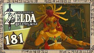 THE LEGEND OF ZELDA BREATH OF THE WILD Part 181: Riju - Die junge, heiße Königin der Gerudo
