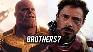 What Everyone Forgot About Thanos and Tony Stark