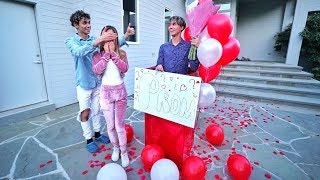 I ASKED MY CRUSH TO PROM! (SHE CRIED)