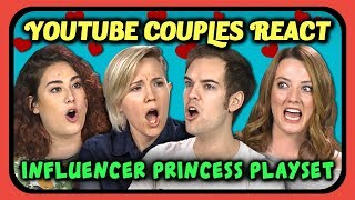 YOUTUBERS REACT TO YOUTUBER PRINCESS PLAYSET TOY?!