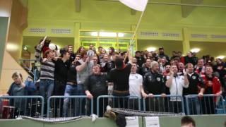 Triumphale Party: Neuhausener Fans feiern Arcobräu-Cup-Sieg