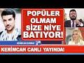 Kerimcan Durmaz canlı yayına bağland�...