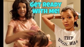 Get Ready with Me, First Day of School 2017 | Large Family of 6 Kids