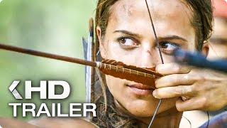 "TOMB RAIDER ""Becoming Lara Croft"" Featurette & Trailer (2018)"