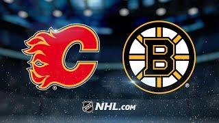 Nash, Bergeron score twice to lead Bruins past Flames