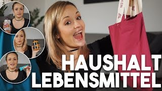 XL DM HAUL I Haushalts FAVORITEN  & Lebensmittel I Mellis Blog