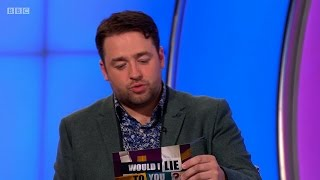"Jason Manford: ""I once wet myself whilst babysitting a toddler."" - Would I Lie to You? [HD][CC]"