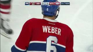 Gotta See It: Weber scores first as a Hab on signature one-timer