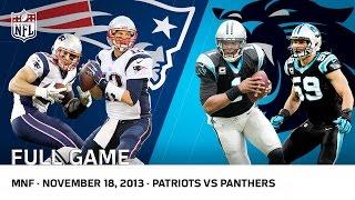 Cam Newton Beats Tom Brady   Patriots vs. Panthers (Week 11, 2013)   NFL Full Game