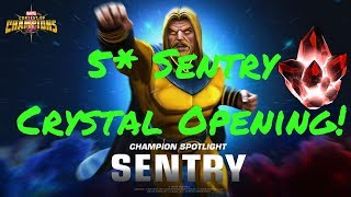5* Sentry Crystal Opening! Live! Marvel Contest Of Champions