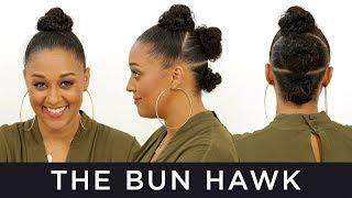 Bun Hawk for Natural Hair | Quick Fix