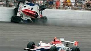 Indycar Biggest crashes of All time